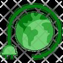 Ecology Plug Socket Icon