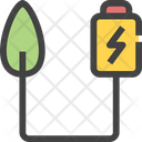 Battery Energy Eco Icon