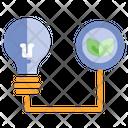 Energy Lamp Power Icon