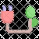 Plug Electricity Energy Icon