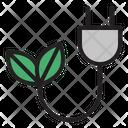 Green Energy Ecology Energy Icon