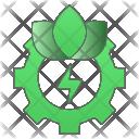 Cog Energy Gear Icon