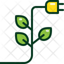 Clean Energy Green Icon