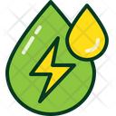 Drop Ecology Electric Icon