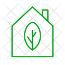 Green Energy Home House Icon