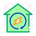 House Energy Technology Icon