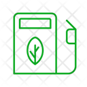 Green Energy Gas Gas Station Icon