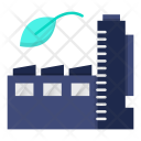 Green Factory Industry Icon