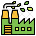 Igreen Green Factory Factory Icon