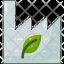 Green Factory Eco Icon