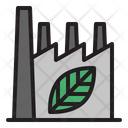 Green Factory Factory Green Industry Icon
