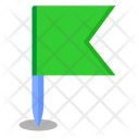 Green Flag Map Icon