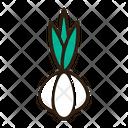 Green Garlic Icon