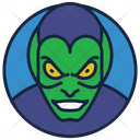 Green Goblin Marvel Legend Face Batman Icon