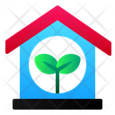House Green Energy Icon