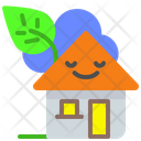 Green House Green Home Icon