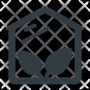 Greenhouse Glasshouse Ecology Icon