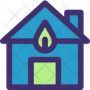 Green House Home Nature Icon