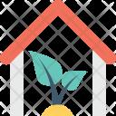 Ecological House Eco Icon