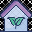 Eco Green House Icon