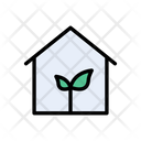 Green House Energy Icon