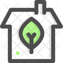 Green Green House House Icon