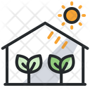 Green House Eco House Ecology Icon