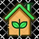 Eco Home Ecology Icon