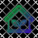 Green House House Eco House Icon