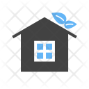 House Green Eco Icon