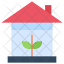 Green House Eco House Home Icon