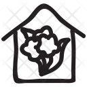 Growth Plant House Icon