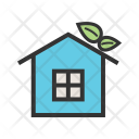House Green Eco Icon