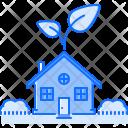 House Garden Sprout Icon