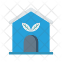 Green House Home Icon