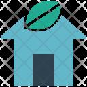Green House Eco Icon