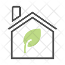 Greenhouse Home Natural Icon