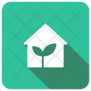 Growth House Home Icon