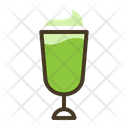 Green Ice Cream Coffee Icon