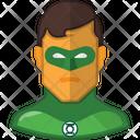 Green Lantern Dc Comic Superhero Icon