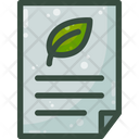 Green Contract Mou Icon
