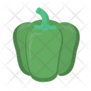 Green Pepper Food Icon