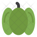 Green Pepper Peppers Vegetables Icon