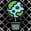 Green Planet Icon