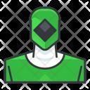 Green power ranger Icon