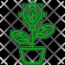Green Energy Leaf Gree Icon
