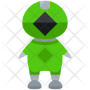 Green Ranger Man Icon