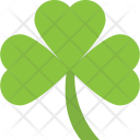 Green Shamrock Icon