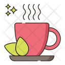 Green Tea Hot Tea Green Icon