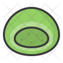Green tea daifuku Icon